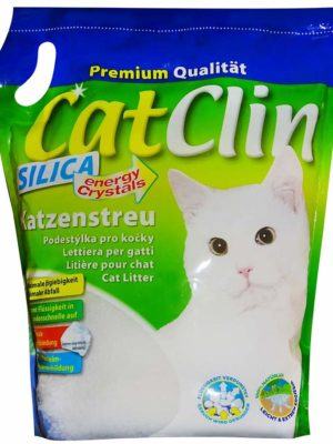Catclin 8 x 8 l = 64 L Magic SILIKAT KATZENSTREU - PowerCat STREU-Forever CLEAN