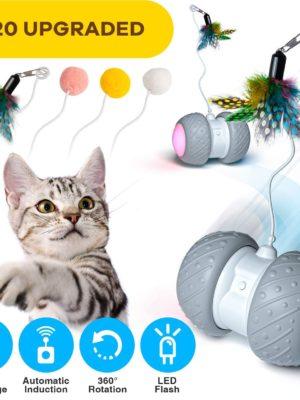 Automatischer Drehender Katzenball