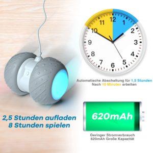 Elektrischer Interaktives Ball,Automatischer Drehender Katzenball