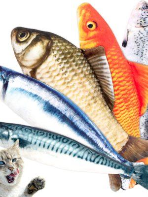 Katzenspielzeug Fisch