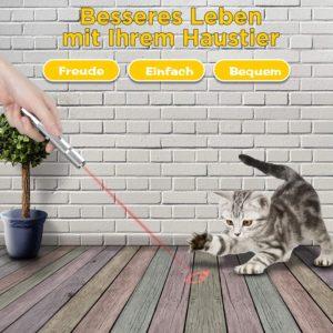 Zacro Katzenspielzeug Interaktives Spielzeug