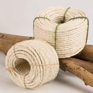 Yangbaga Natural Sisal Seil, Sisalseil für Kratzbaum 30m, 8mm